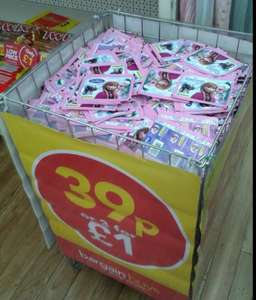 Frozen Panini stickers - 3 packets for £1 @ BargainBuys/PoundWorld