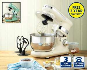 Classic Stand Mixer at Aldi next Sunday 21st September £79.99. With 3 years warranty included.