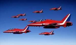 See RAF Red Arrows at Southport Air Show this week-end Advanced Ticket online - £7.32