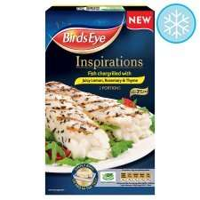 300g Chargrilled Fish With Lemon & Herbs - Birds Eye Inspirations £2 @ Tesco