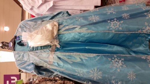 frozen dresses Anna and Elsa £16 @  Sainsbury