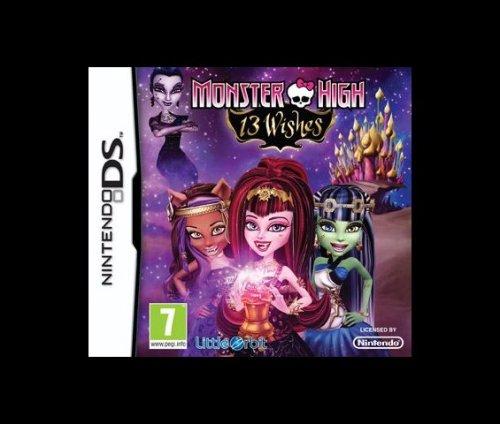 Monster High 13 Wishes Nintendo DS game £8.70 @ Tesco online
