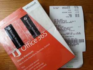 Microsoft Office 365 Home Premium £40 Asda instore
