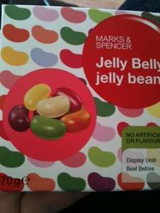 HALF PRICE Jelly Belly Beans @ M&S now 75p
