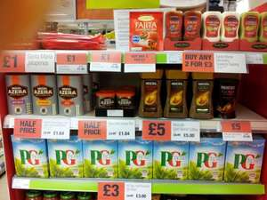 Coffee deals £5 at the Coop