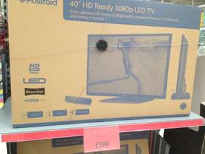 "40""inch HD 1080p Polaroid TV £199 @ Asda instore"