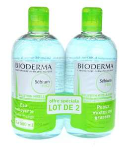 Bioderma Sebium H2O Micelle Solution 2 x 500ml £12.95 Sold by PHARMACIE LESCOMBES and Fulfilled by Amazon