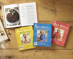 Mary Berry Cookbooks £3.99 each from sunday 21 September @ Aldi