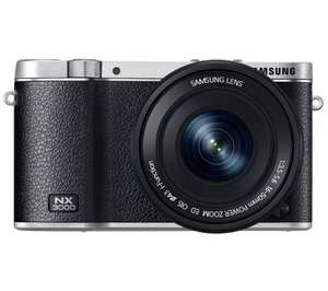 Samsung NX3000 Smart Compact CSC Digital Camera with 16-50mm lens and Lightroom 4, Currys - £199.99