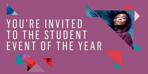 We ♥ Students! @ Westfield Stratford city Student Event of the Year!  One day only on Thu 2ndOct 2014!!!  there'll be giveaways!! you deinitely won't want to miss out!