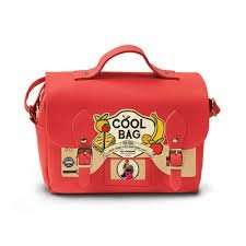 Satchel Lunch Cool Bag - Red - £2 - And Other Lunch/Travel Items Reduced - Asda In Store