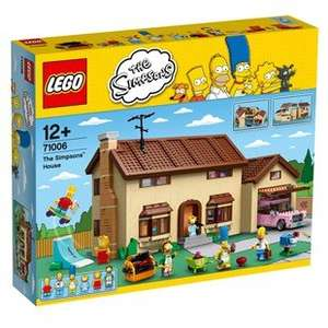 lego simpsons house £144 smyths in store friday - monday