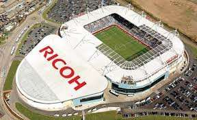 Football for £5 @ the Ricoh Arena.