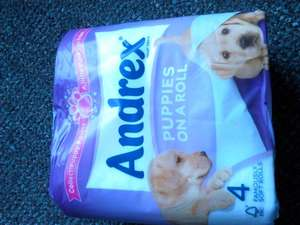Andrex 4pk toilet roll 99p in Aldi