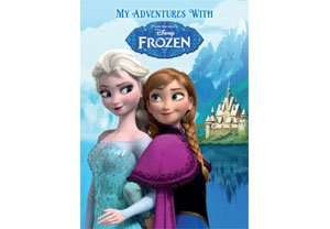 Disney Frozen Personalised Book £9.99 (£2.50 Delivery) - Asda Gifts & Flowers