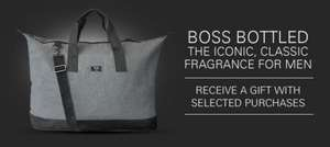 BOOTS BOSS BOTTLED MENS FRAGRANCE FREE BAG - £39.99