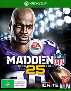 Madden NFL 25 (Xbox One) £14.86 Delivered @ Shopto