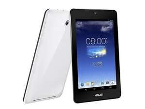 "ASUS Refurb Mediatek 7"" IPS Quad core 1.2GHz 1GB 16GB Android 4.2 Colors Available White/Dark Blue/Pink £64.99 delivered @ Dabs.com"