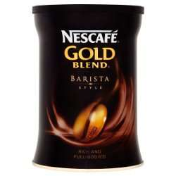 Nescafe Gold Blend Barista Style (180g) £4.00 @ Morrisons