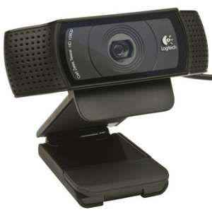 Logitech c920 hd webcam Amazon. Deal of the day £35.99