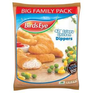 Birds Eye Crispy Chicken Dippers 42 Pack (770g) - £3 @ Morrisons