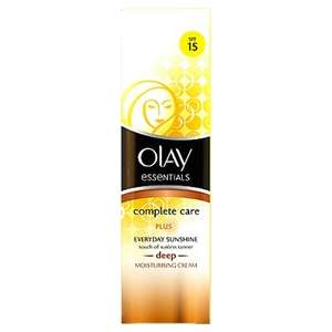 Olay Complete Care Everyday Sunshine Deep Glow 50ml £1.25 @ Asda free c&c