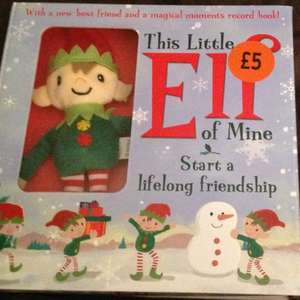 This little elf toy, boxed with lovely hardback book, boxed like elf on the shelf £5 @ Sainsbury's  instore