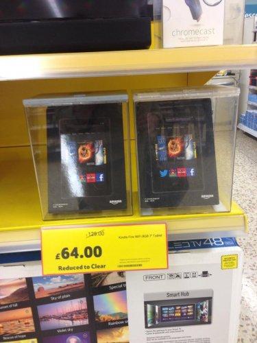 Kindle Fire HD 8GB WIFI 7'' Tablet,  £64 Instore @ Tesco