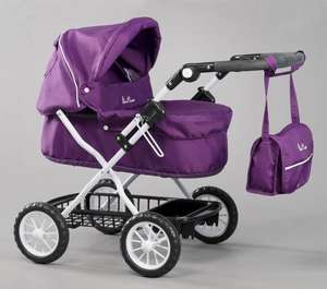 Dolls silver cross ranger pram damson Bargain price at £27.99 with free delivery @ Amazon