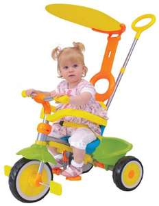 Grow and Go Deluxe Trike with parent handle - £29.44 @ Amazon