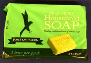 Falcon Green Household Soap Pack (2 Bars) 69p at Home Bargains