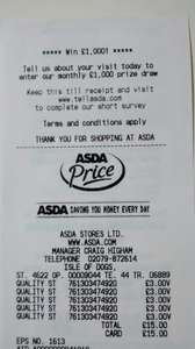 Quality Street Variety Tub 780g In Store £3 @ Asda
