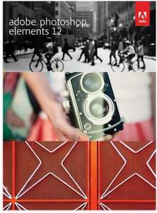 Adobe Photoshop Elements 12 (1 PC Licence) plus a £3 blu ray for £42 Tesco Direct [with code]