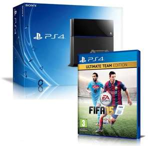 Ps4 + Fifa 15 UT edition 329.99 delivered with code @ HMV Shop