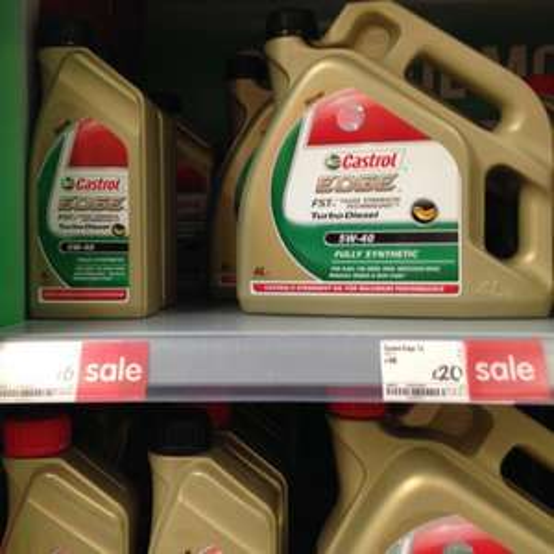 Castrol Oils £20 in Asda