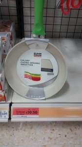 Ceramic frying pan in sainsbury.  Was £35 now & £10.50