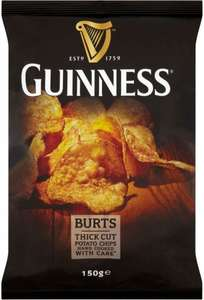 Burts Guinness Thick Cut Potato Chips (150g) was £1.99 now £1.00 @ Tesco