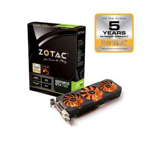 ZOTAC GTX 780 Overclocked 3GB Nvidia PCI Express Graphics Card 5 Year Warranty + Free Borderlands the Prequel Game -  £235.70 delivered @ Scan !