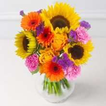 Autumn Dusk bouquet @ Debenhams Flowers WAS £44.99 NOW £19.99 (inc del)