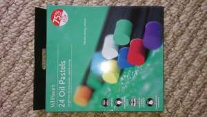 pack of 24 oil pastels 75% off instore Whsmith £3.24