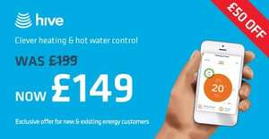 Hive Active Heating is now £149 for new and existing British Gas customers