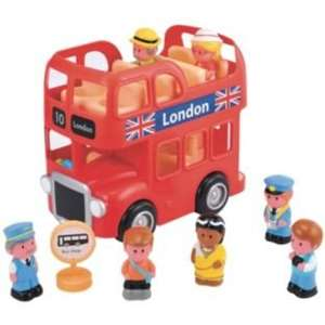 Early learning centre happyland London bus playset. - £16.99 @ Argos