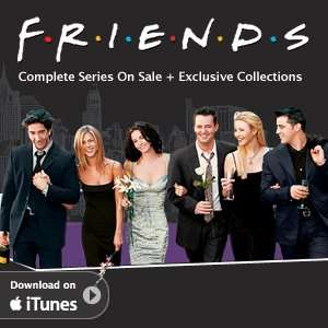 Friends complete series in HD on iTunes for £37.99, previously £59.98!