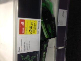 Razer Kraken 2.0 stereo headphones £24.97  @ Curries & PC World