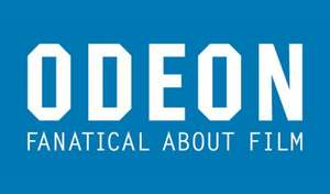 Two cinema tickets £10 or Five cinema tickets £20 @ Odeon via Groupon - Now live
