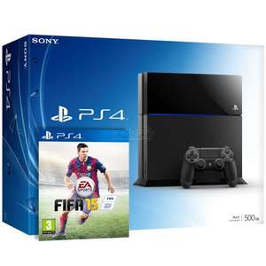PS4 500GB Console + FIFA 15 (physical copy) £329 @ Amazon.co.uk