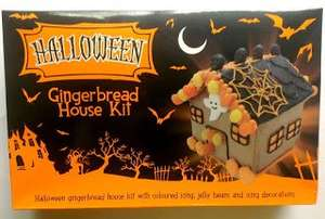 Halloween gingerbread house and christmas gingerbread house kits £4.49 @ Home Bargains
