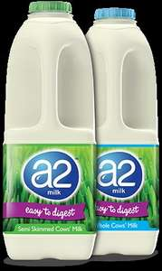 Free vouchers for up to 2 weeks of a2 milk