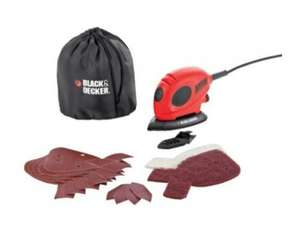 Black & Decker Mouse Detail Sander with Accessories - 55W - £14.99 - Argos