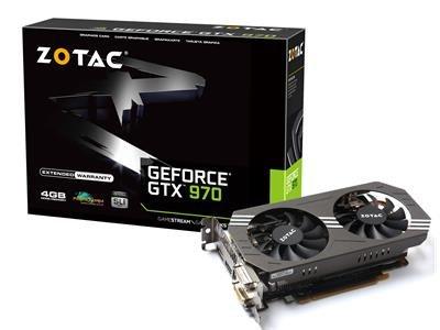 Zotac GeForce GTX 970 4GB - £249.99 with code Dabs